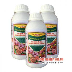 Chế phẩm hữu cơ vi sinh 5.0 chuyên dùng cho hoa hồng T100
