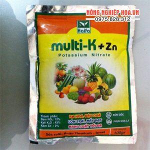Phân bón Multi K+Zn ra hoa đậu quả gói 100g – T38