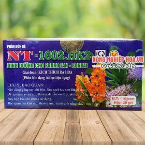 Phân bón HVP 1602.HK2 dưỡng hoa cho lan – T10
