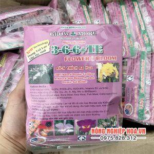 Phân bón kích thích ra hoa Flowwer Bloom 3-6-6 TE T69