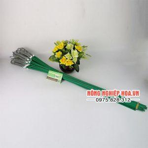 Móc treo lan bằng nhôm có dây treo 70cm, bộ 10 móc VTK12